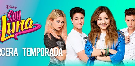 "Ha regresado a Disney Channel, la serie del momento ""Soy Luna"""