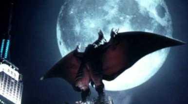 RONDAN - Parecido com um pterosauro, por vezes apareceu como rival e em outras ocasiões como aliado de Godzilla. Estreou em 1956