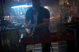 Vin Diesel em cena