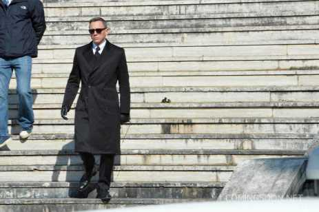James Bond film 'Spectre' filming - Day 1