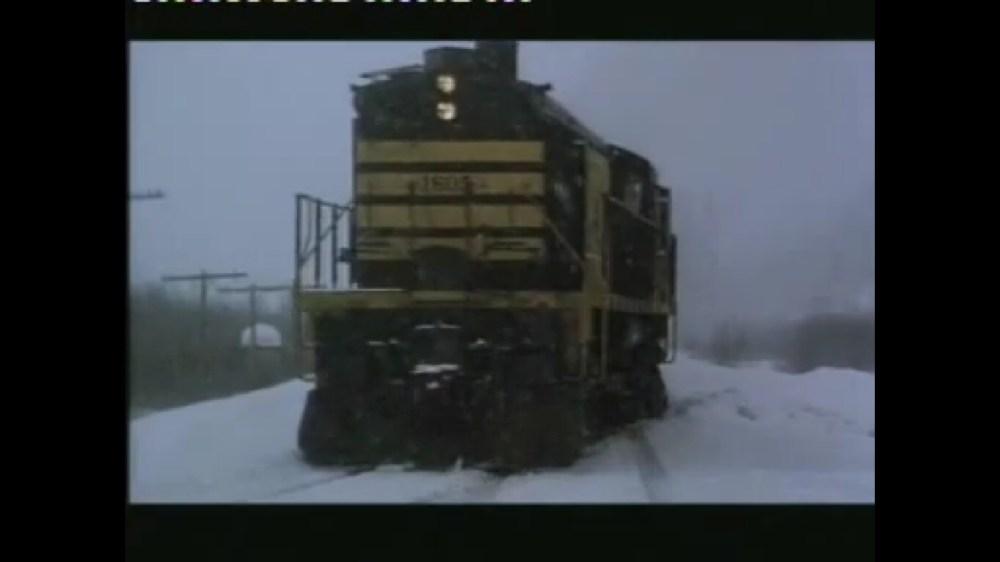 RUNAWAY! Alaska Railroad in Runaway Train (1987) (5/5)