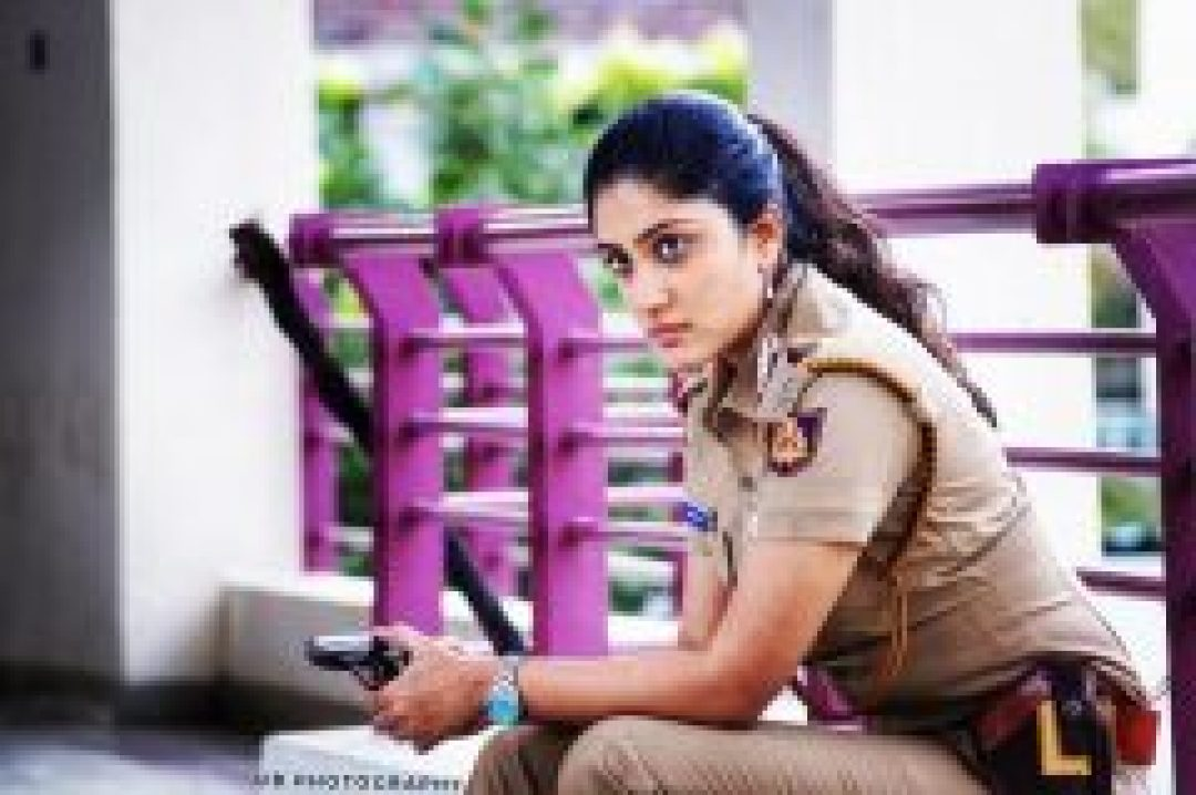 Dhanya Balakrishna on police dress