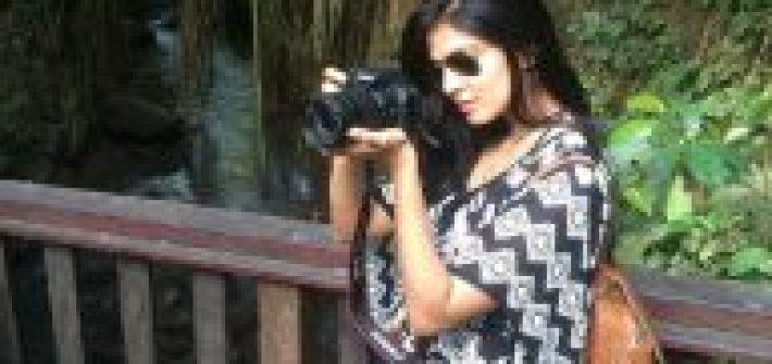 Malavika Mohanan As A Photographist