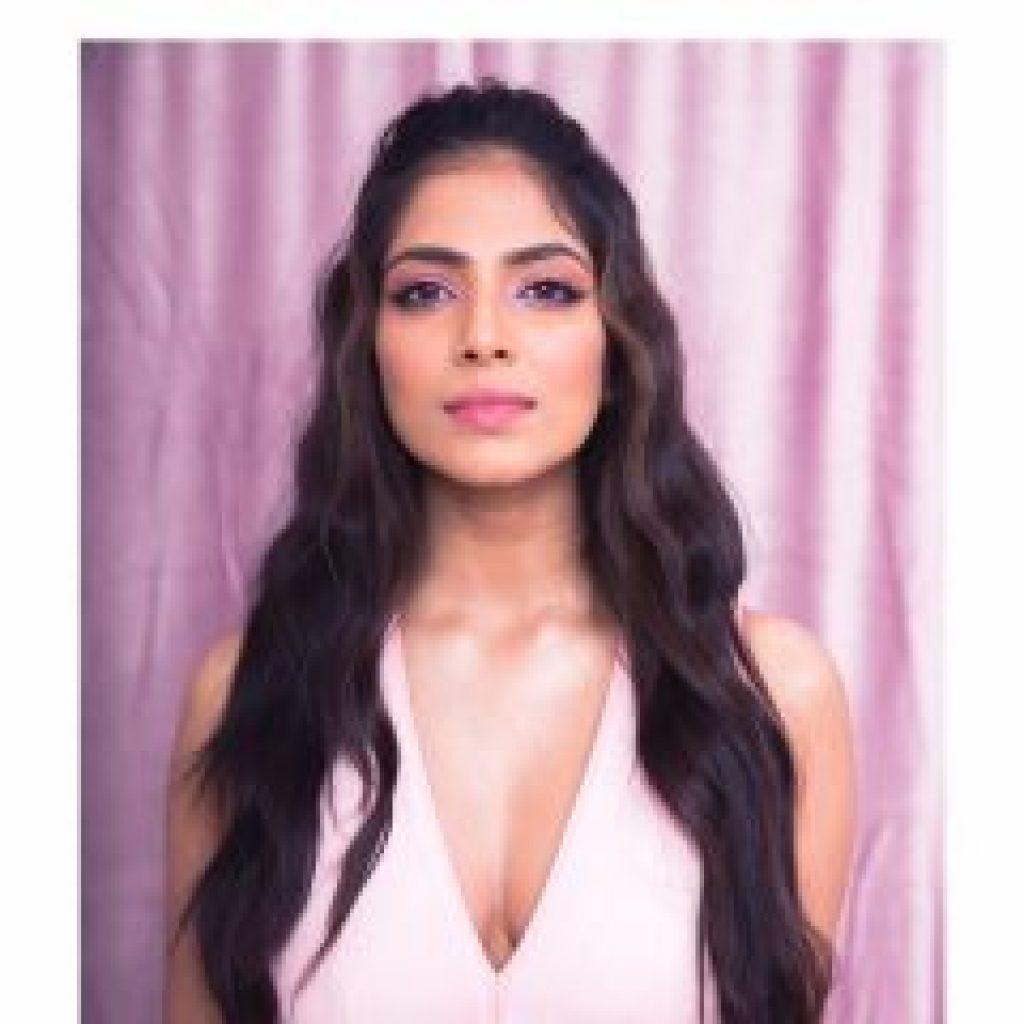 Malavika Mohanan in Pink