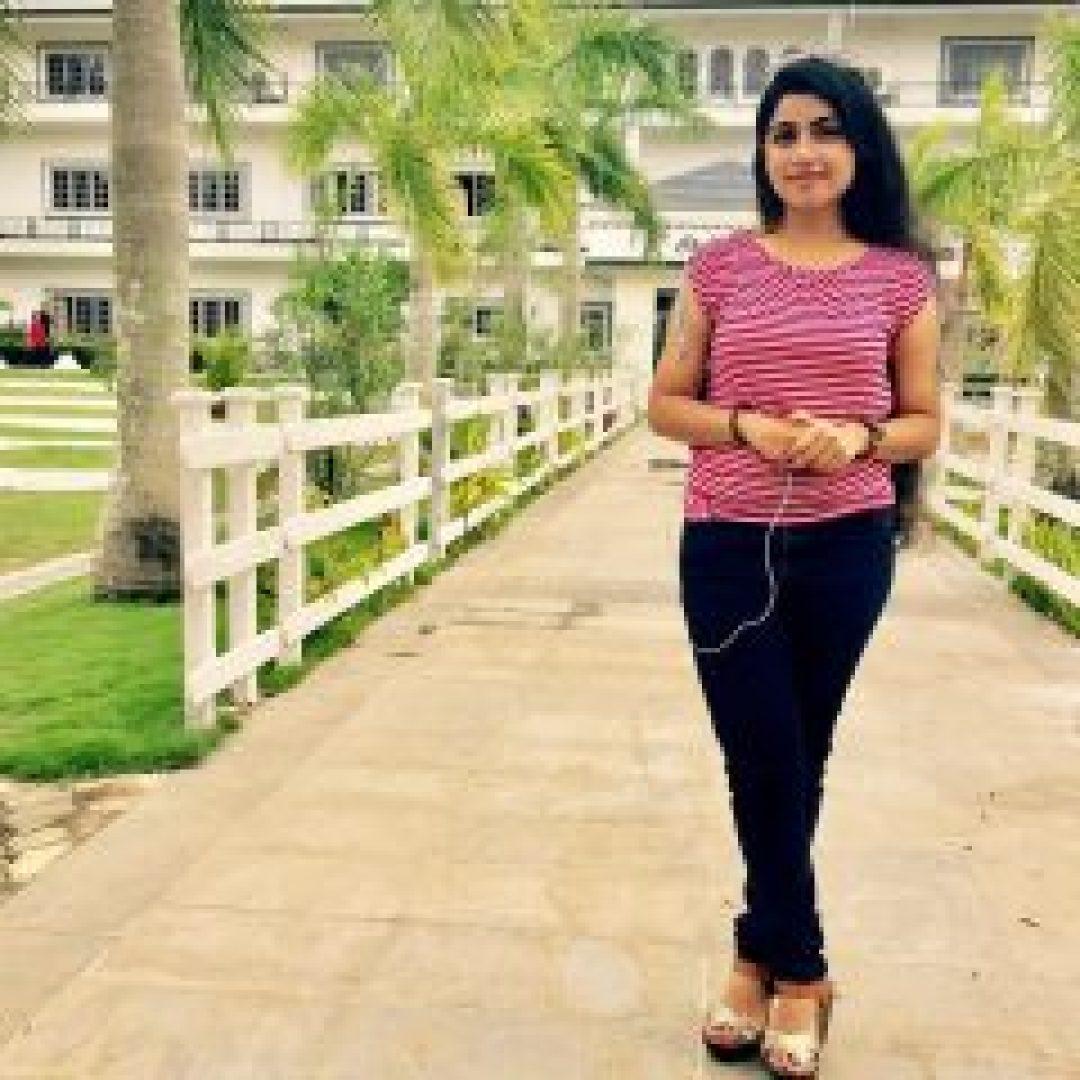 Hd Photo of Manasa Radhakrishnan