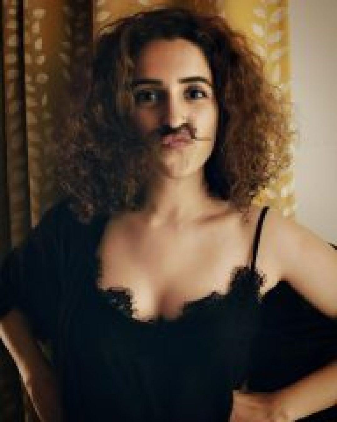 Naughty Sanya Malhotra