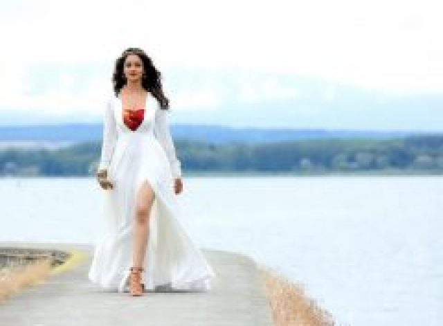 Shanvi Srivastava  in White dress