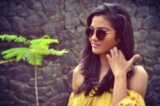Gayathri Shankar in Yellow