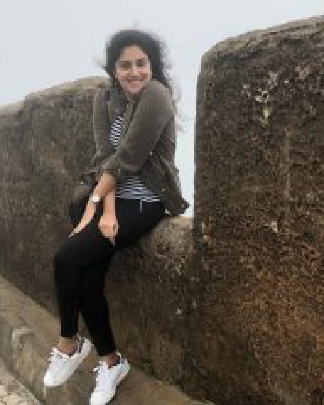 Dhanya Balakrishna with phant shirt