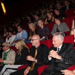 Im Kino mit Schauspieler Dieter Laser während dem 4. Cinestrange im Jahr 2015