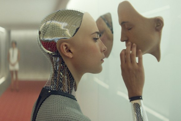 EX MACHINA - 2015 FILM STILL - Alicia Vikander as Ava