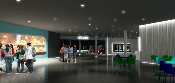 Rendering Montehiedra Cinemas 3