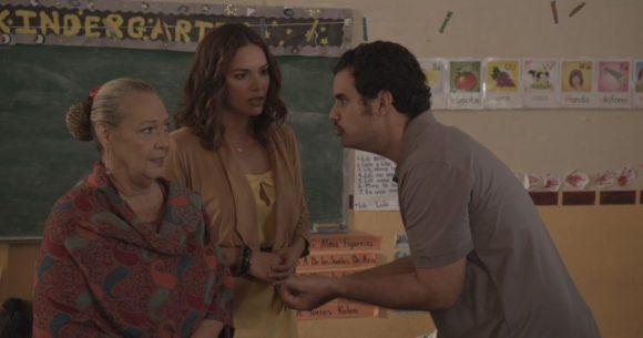 Lillian, Denise y Carlos