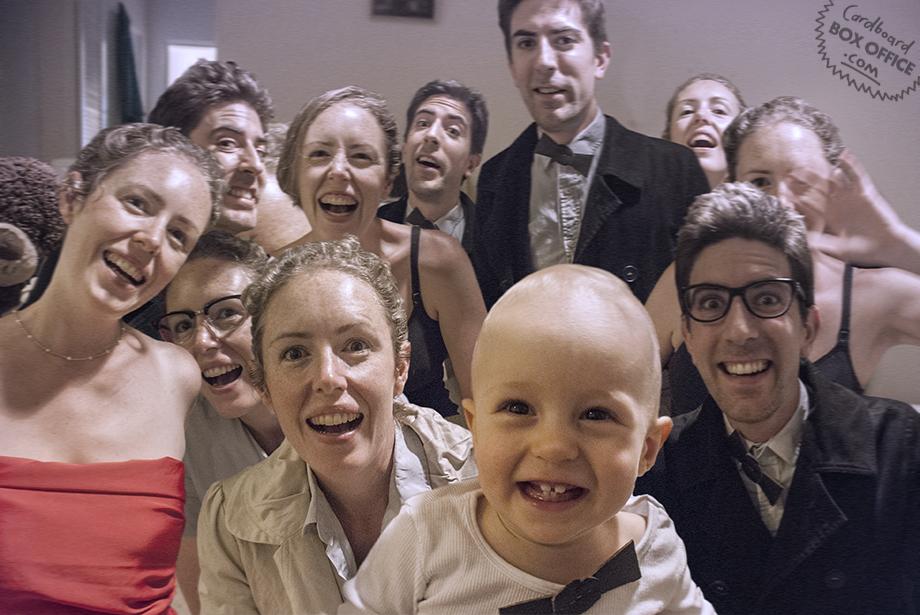Bebé: Selfie a lo Ellen DeGeneres