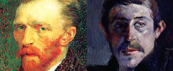 Vincent Van Gogh y Paul Gauguin
