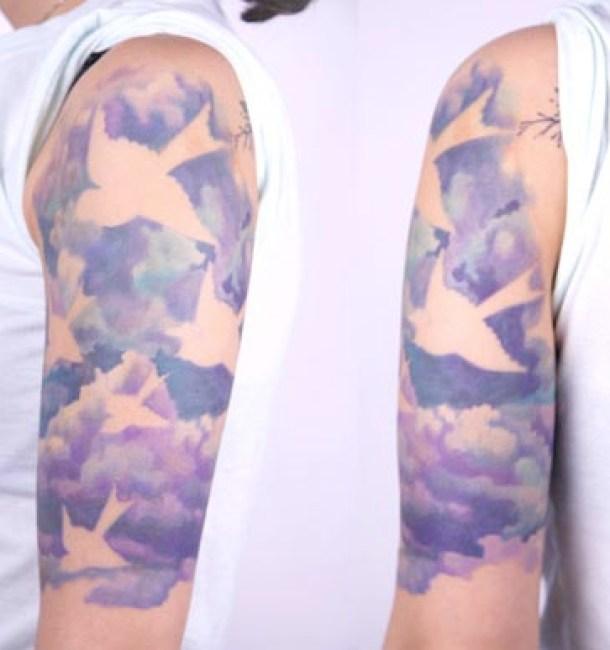 Asombrosos tatuajes de Amanda Wachob