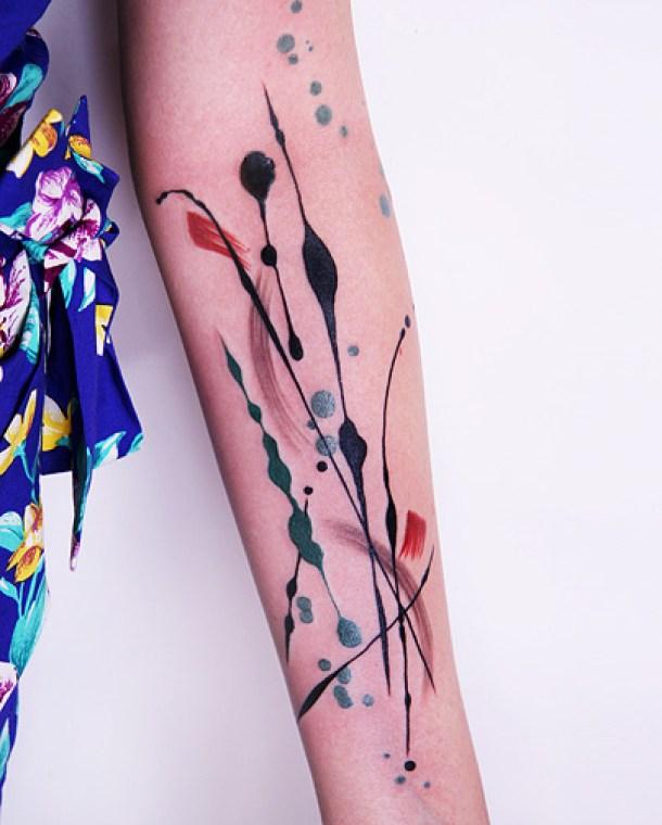 Los tatuajes de Amanda Wachob
