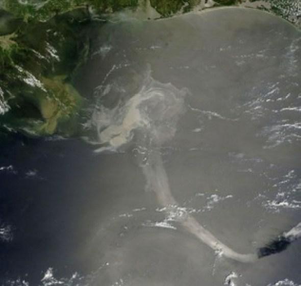 Derrame de petróleo en México