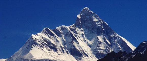 Nanda Devi, montaña de la India