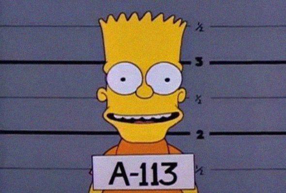 Bart en Los Simpsons