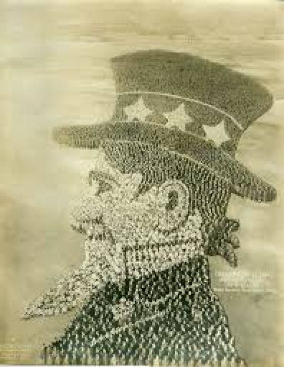 Mosaico del Tío Sam
