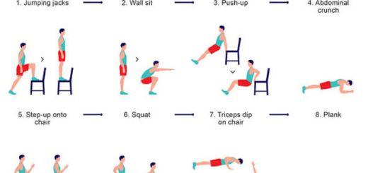 7 minutos de ejercicio al día