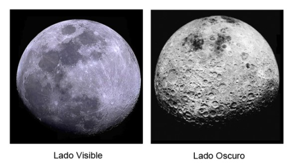 Lado no visible de la luna