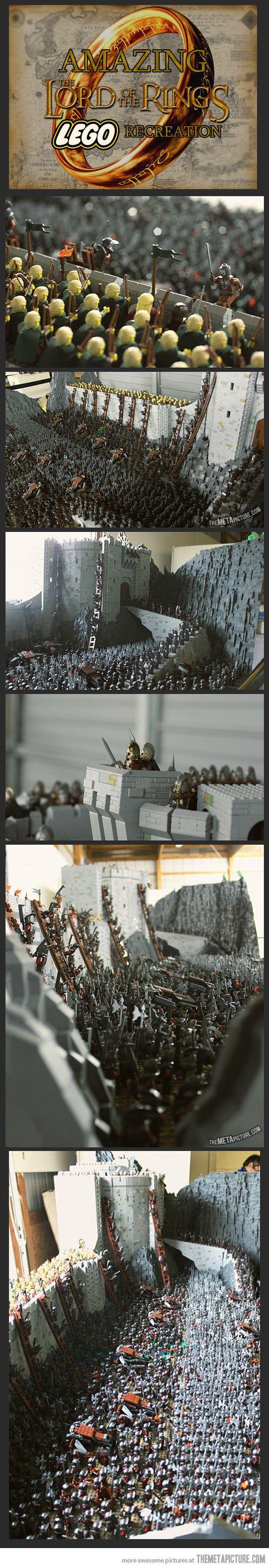 Señor de los Anillos en Lego