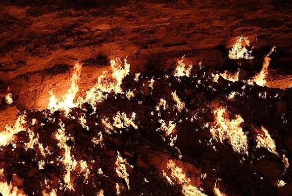 Arde por siempre la puerta del infierno