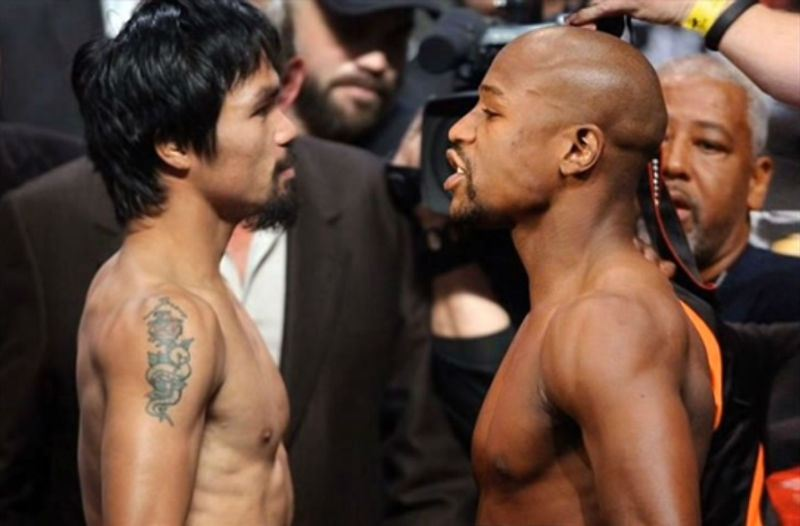 Pelea entre Manny Pacquiao y Floyd Mayweather