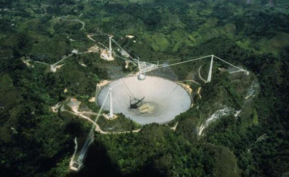 Radiotelescopio de Arecibo en Puerto Rico