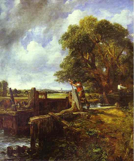 The Lock de John Constable