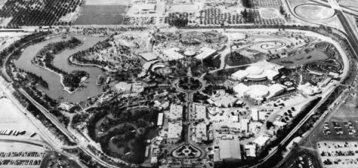 Construcción de Disneyland