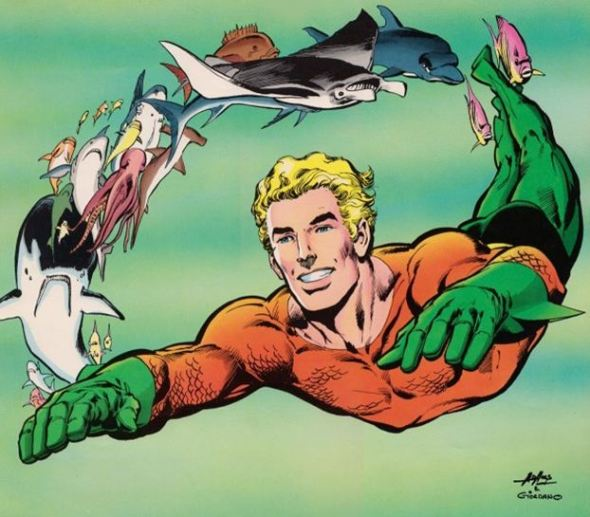 Respirar bajo el agua como Aquaman