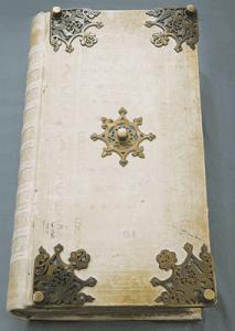 La portada del Codex Gigas