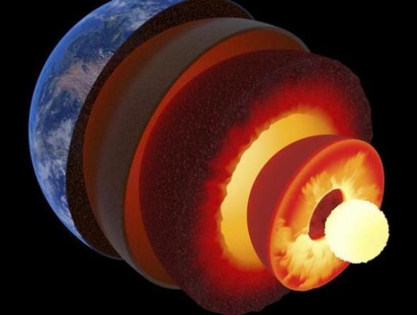 El centro de la Tierra