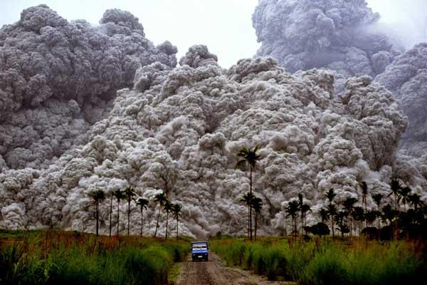 Erupción del volcán Pinatubo
