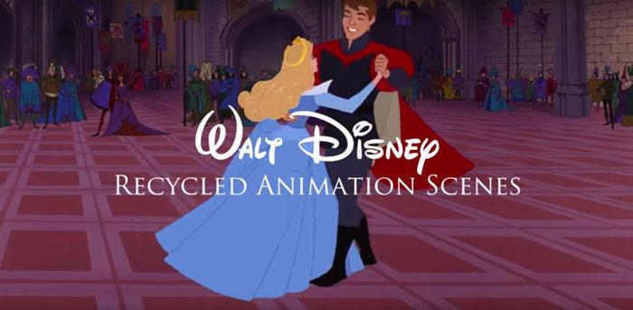 Escenas recicladas de Disney