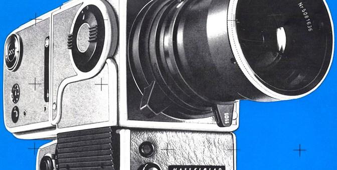 La Hasselblad 500 EL convertida en una EDC