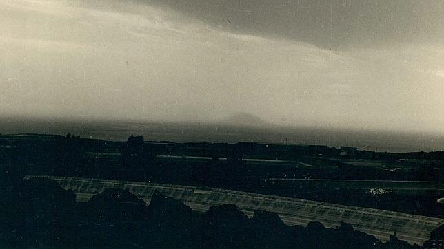 Foto de la Isla de San Borondón de 1958