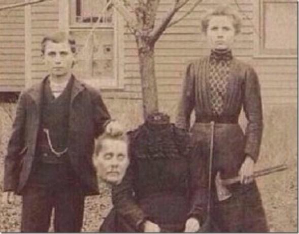 Foto de la mama decapitada Buckley
