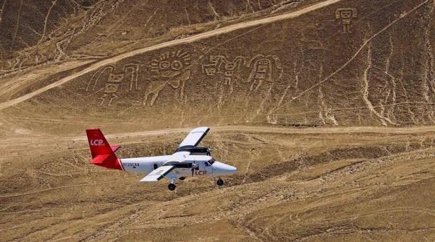 Desde el aire las líneas de Nazca
