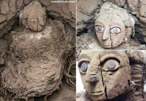 Las momias wari de ojos azules en Perú