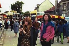 Foto antes de la muerte de Jim Morrison