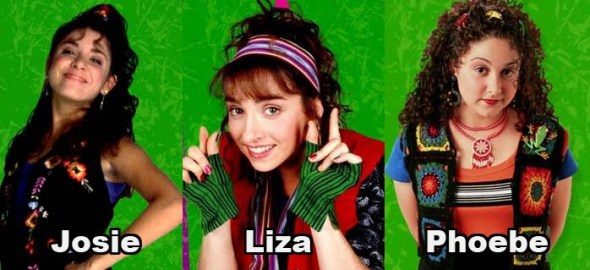 Josie, Liza y Phoebe