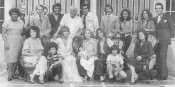 Actores de Cristina Bazán reunidos