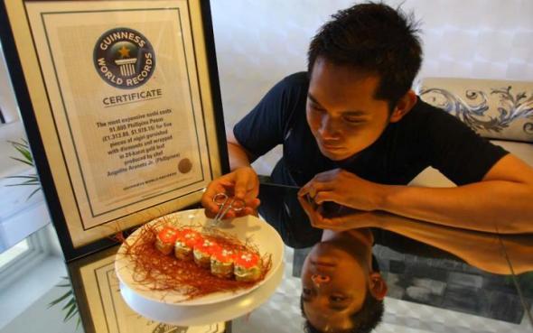Sushi del Chef Ageniro