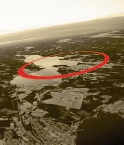 Asteroide impactó el cráter Lockne