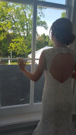 Scanning the ceremony site from 2nd floor. Photo courtesy of Elyse Phillips.