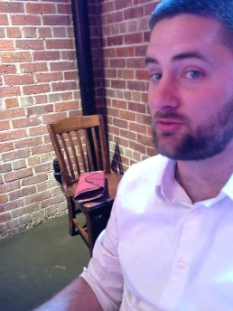 groomsman dave john who did not want his pic taken / too bad, dave